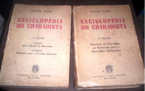 enciclopédia do charadista sylvio alves 2 volumes