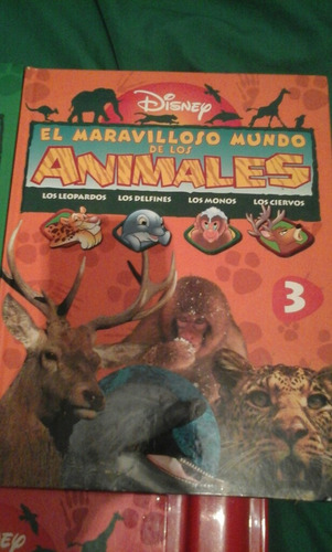 enciclopedia el maravilloso mundo de los animales 5 tomos