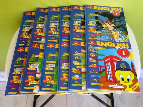 enciclopedia english junior looney tones de 12 tomos