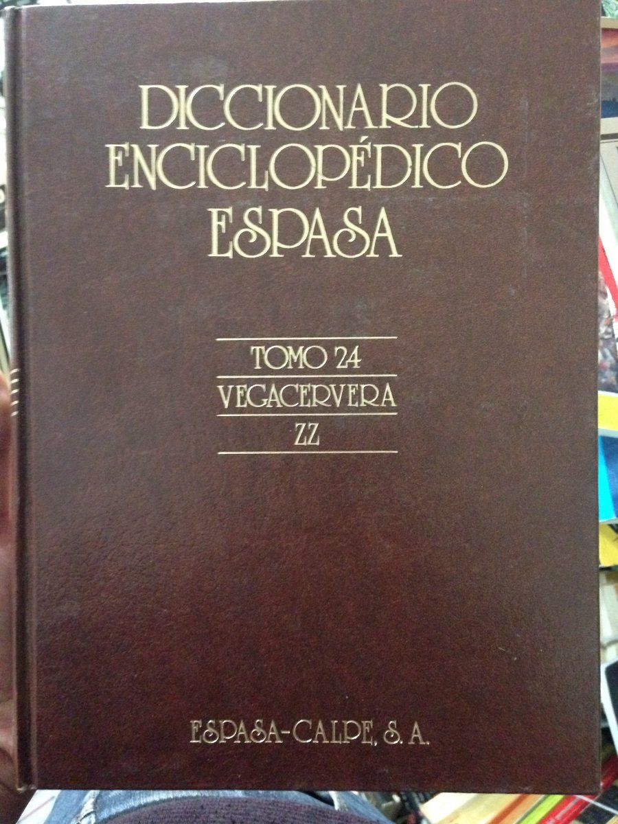 Resultado de imagen de enciclopedia espasa