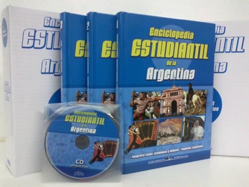 enciclopedia estudiantil  de la  argentina