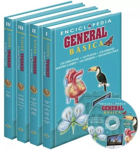 enciclopedia general básica 4 tomos - lexus