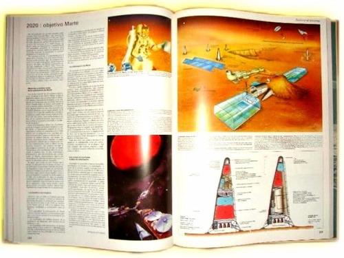 enciclopedia gran atlas del espacio y el libro de los padres