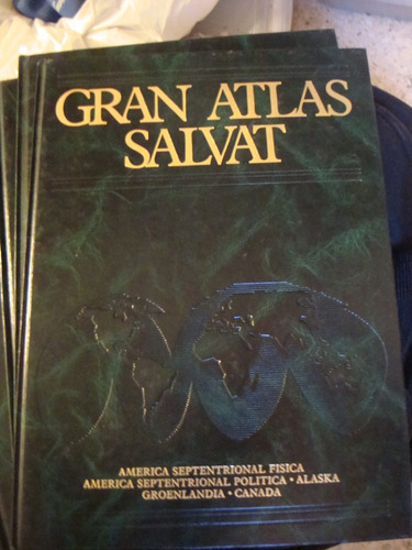 enciclopedia gran atlas salvat coleccion 8 tomos