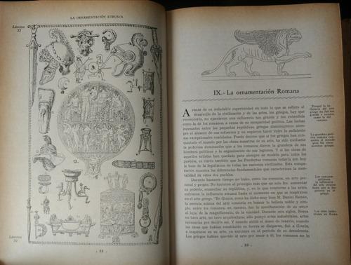enciclopedia historia de estilos ornamentales. arquitectura