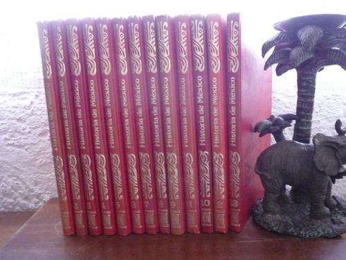 enciclopedia historia de méxico salvat ©1974