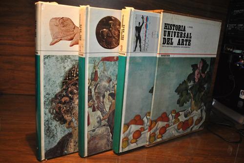 enciclopedia historia universal del arte 3 tomos. ed. noguer