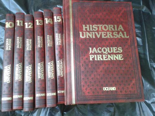 enciclopedia historia universal jacques pirenne oceano