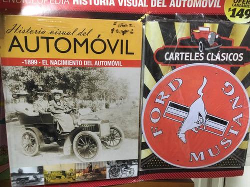 enciclopedia historia visual del automóvil - tomo 1 mustang