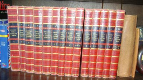 enciclopedia ilustrada cumbre completa 14 tomos 1965 se.37.9