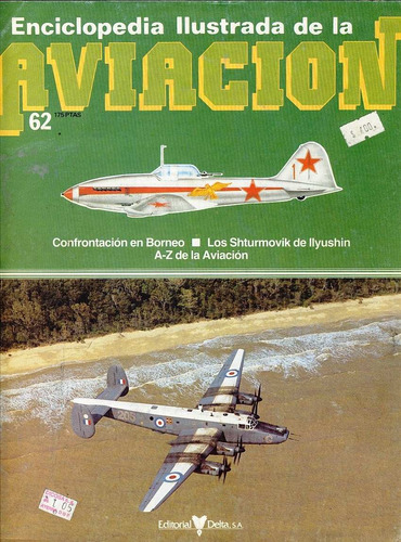 enciclopedia ilustrada de la aviacion fasiculo 62