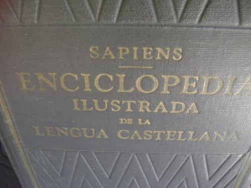 enciclopedia ilustrada de la lengua castellana 3 tomos sopem
