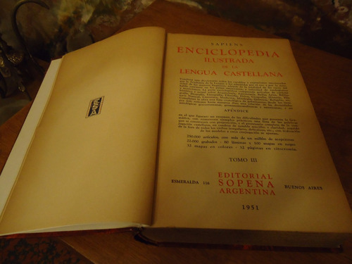 enciclopedia ilustrada de la lengua castellana
