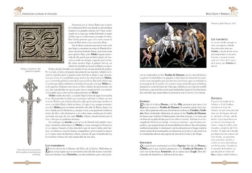 enciclopedia ilustrada de mitología dioses mitos leyendas