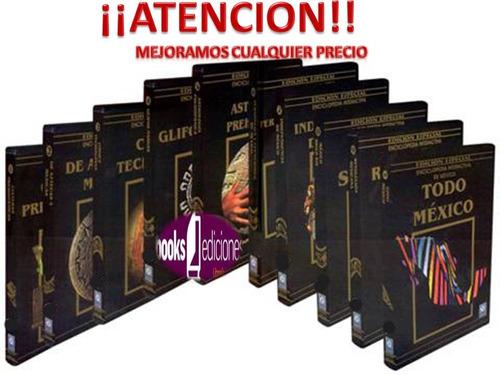 enciclopedia interactiva de méxico 10 cd roms
