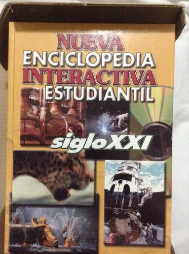 enciclopedia interactiva estudiantil siglo xxi con cd