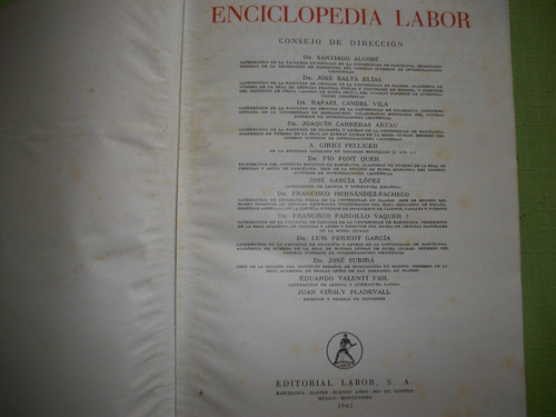 enciclopedia labor.   editorial labor, s.a.