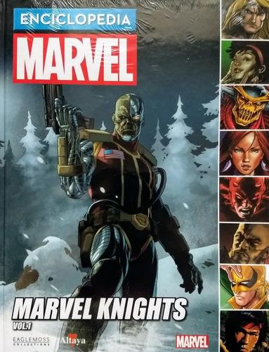 enciclopedia marvel nº 15 marvel knights vol 1