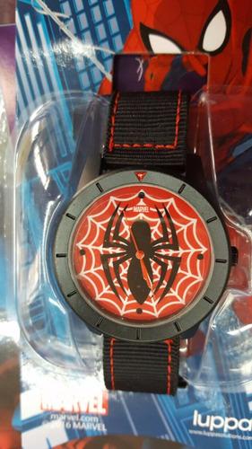 enciclopedia marvel n 4 - hombre araña  / reloj de regalo