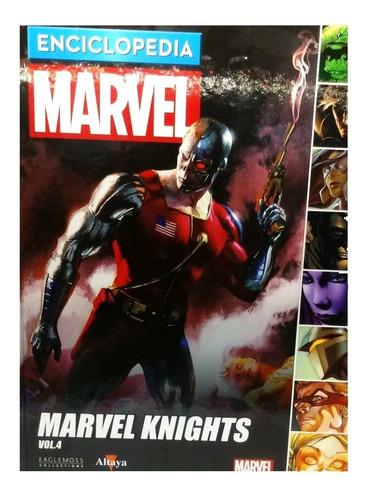 enciclopedia marvel nº 54 marvel knights vol. 4