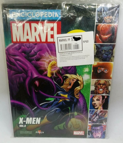 enciclopedia marvel nº 60 x-men volumen 8