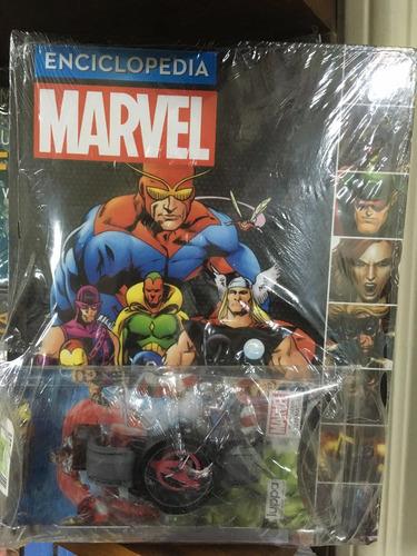 enciclopedia marvel n 7 - avengers 2  / reloj de regalo