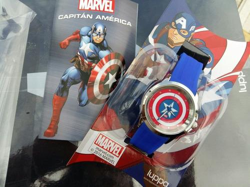 enciclopedia marvel+relojes