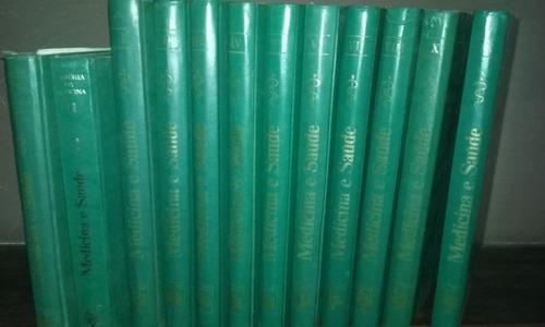 enciclopédia medicina e saúde - 12 volumes