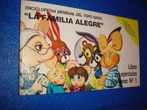 enciclopedia mensual del topo gigio, impecable !