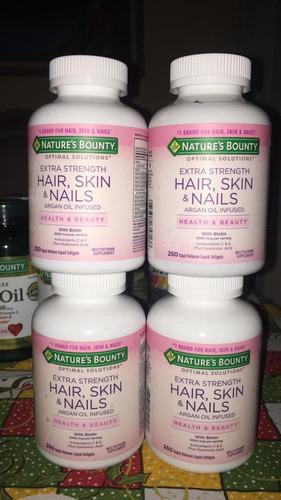 enciclopedia nature's bounty hair, skin & nails.