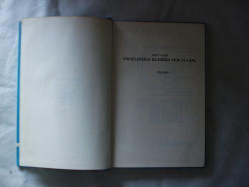 enciclopédia nossa vida sexual - 3 vols - fritz kahn