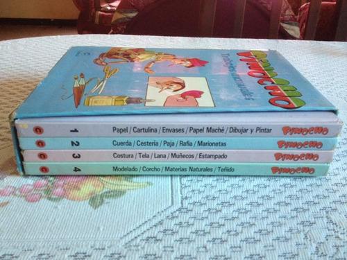 enciclopedia pinocho trabajos manuales docentes padres niños