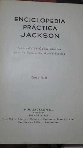 enciclopedia práctica jackson - tomo  vlll
