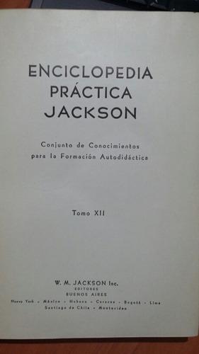 enciclopedia práctica jackson - tomo xll
