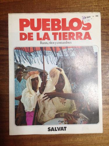 enciclopedia pueblos de la tierra fasciculo nº 44 - año 1984