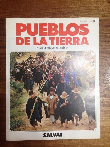 enciclopedia pueblos de la tierra fasciculo nº 57 - año 1984
