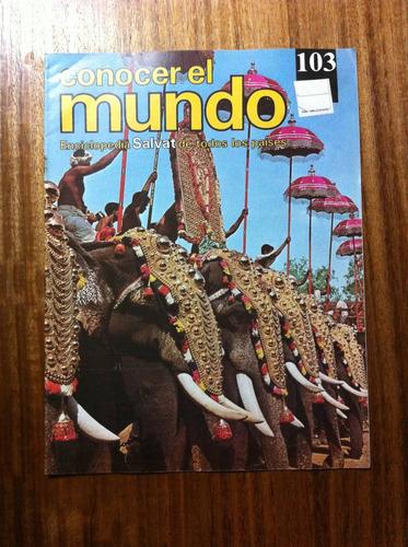 enciclopedia salvat conocer el mundo fasciculo nº103 año1978