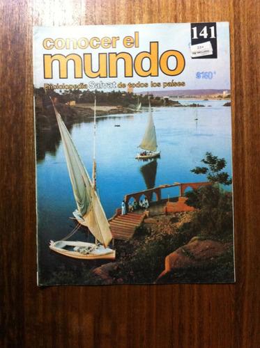 enciclopedia salvat conocer el mundo fasciculo nº141 año1978