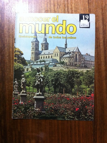 enciclopedia salvat conocer el mundo fasciculo nº19 año 1978