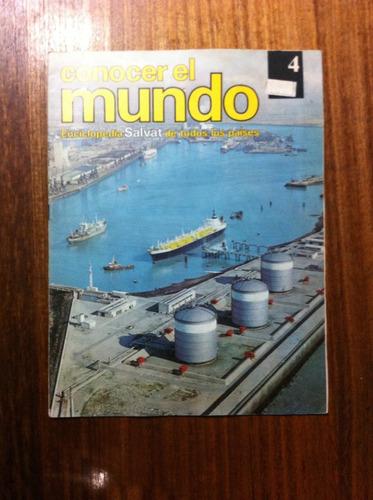 enciclopedia salvat conocer el mundo fasciculo nº4  año 1978