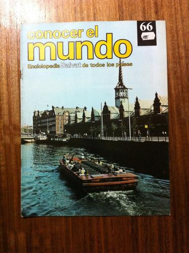 enciclopedia salvat conocer el mundo fasciculo nº66 año 1978