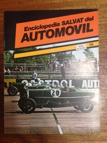 enciclopedia salvat del automovil - fasciculo nº 16