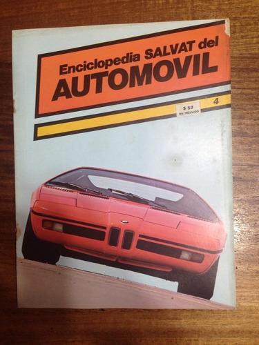 enciclopedia salvat del automovil - fasciculo nº 4