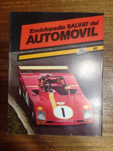 enciclopedia salvat del automovil - fasciculo nº 80