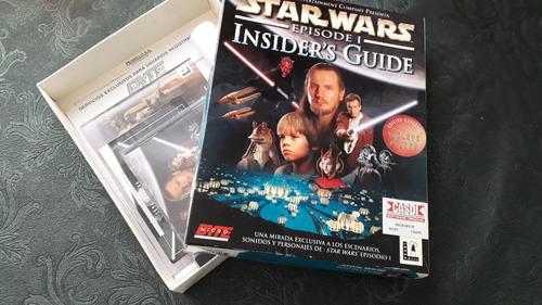 enciclopedia star wars episode 1 insider guide pc cd-rom box