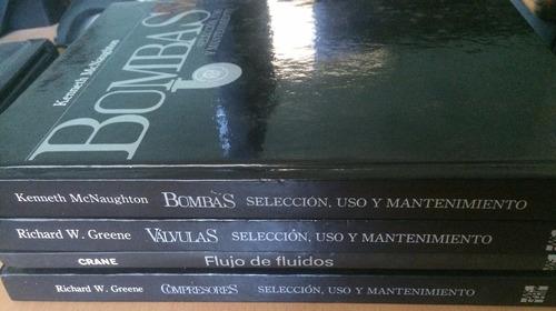 enciclopedia tapa dura: válvulas, bombas y compresores
