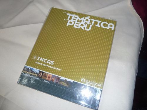 enciclopedia temática del perú incas