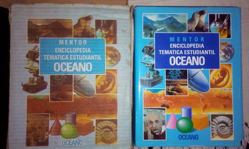 enciclopedia temática estudiantil oceano