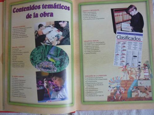 enciclopedia temática ilustrada básica. summa. 6 tomos