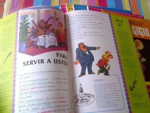 enciclopedia topo gigio completa. 12 tomos. comic, historiet